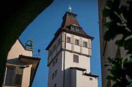 Im Turmzimmer des Graf-Eberhard-Baus