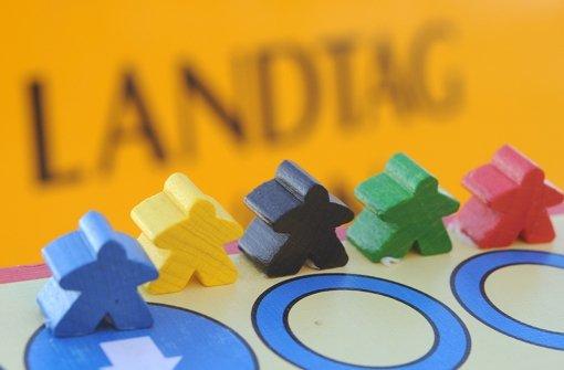 Blau, Gelb, Schwarz, Grün oder Rot?  Am 13. März haben die Bürger die Wahl Foto: dpa