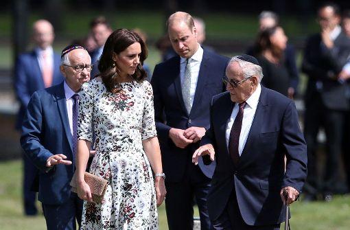 Kate und William besuchen früheres Konzentrationslager