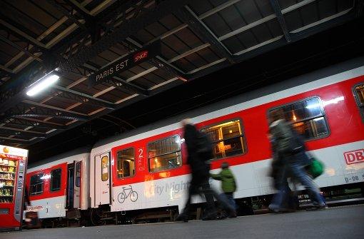 Den Nachtzug der Deutschen Bahn wird es ab Dezember 2016 nicht mehr geben. Foto: Deutsche Bahn AG