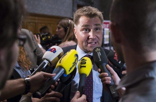 Toni Brunner will mehr Sicherheit für die Schweizer Bevölkerung Foto: dpa