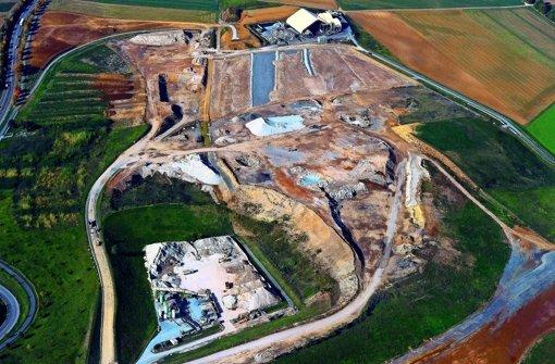 Ein Teil der Deponie könnte ein Naherholungsgebiet werden.. Foto: Kuhnle
