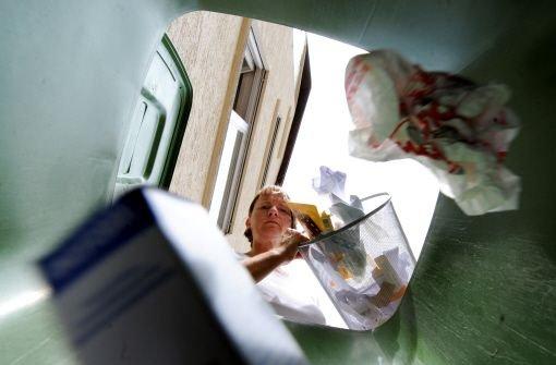 Zu viele Lebensmittel landen im Müll