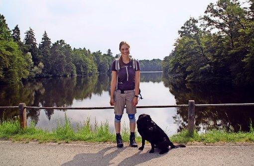 Lisa Huzel wandert bis Norderney