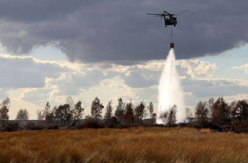 Katastrophenfall nach Moorbrand im Emsland aufgehoben