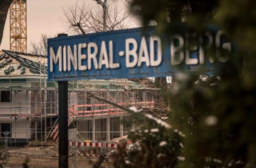 Ein Beispiel von vielen: Die Sanierung des Mineralbads Berg wird teurer und dauert länger. Foto: Lichtgut/Max Kovalenko