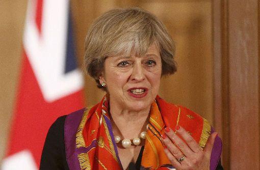 Die teure Lederhose der Theresa May