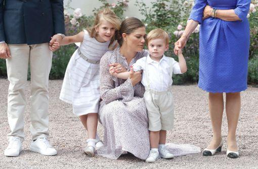 Estelle und Oscar entzücken bei der Geburtstagsfeier der Prinzessin