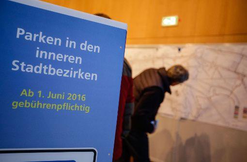 Neue Regeln für das Parken in Stuttgart