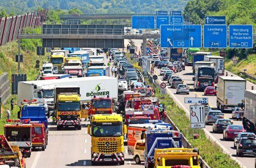 Das erleben Rettungsleute täglich im Einsatz auf Autobahnen