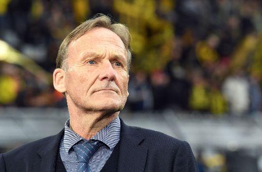 BVB-Geschäftsführer Hans-Joachim Watzke reagierte mit Erleichterung auf die Festnahme. Foto: dpa