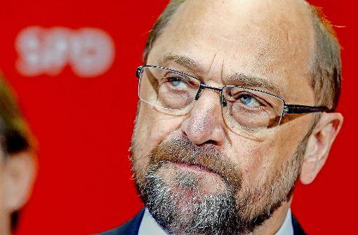 Schulz steht vor einem Scherbenhaufen