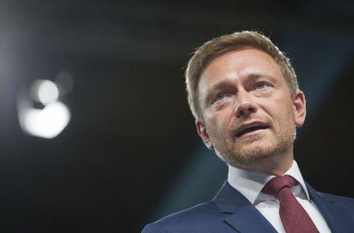 Lindner mit 91 Prozent erneut zum FDP-Chef gewählt