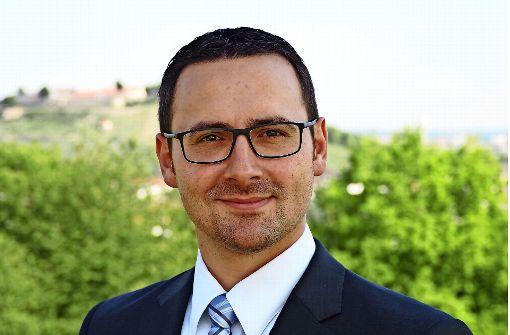 Christian Eiberger wechselt von Ingersheim nach Asperg: der derzeitige Kämmerer wird künftig Bürgermeister sein. Foto: privat