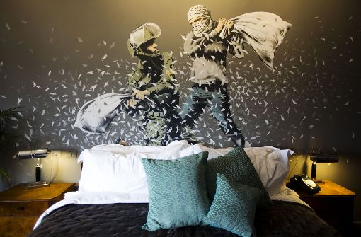Graffiti-Künstler Banksy eröffnet Hotel