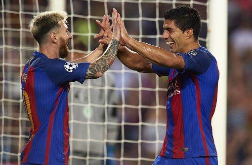 Barcelona siegt mit Super-Messi 7:0