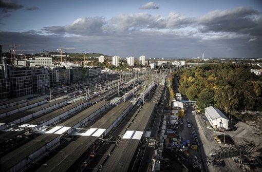 Wettbewerber der Bahn wollen die alten Gleisanlagen nach dem Bau des Tiefbahnhofs nutzen Foto: Leif Piechowski
