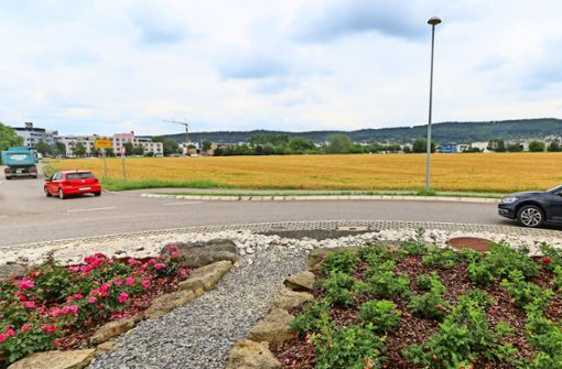 An der  Stadtgrenze von Gerlingen entsteht ein neues Wohngebiet. Foto: factum/Granville
