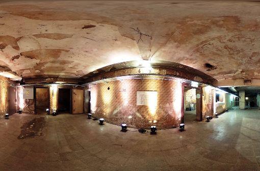 genau ein Mal im Jahr zur Langen nacht der Museen. Der Bunker war einst ... Foto: Jan Georg Plavec
