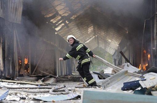 Neue Kämpfe in der Ukraine