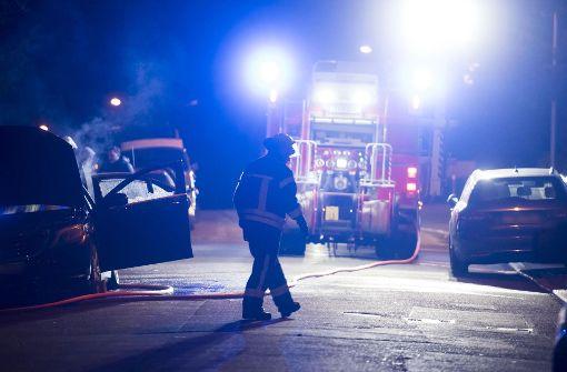...ist wieder ein Auto angezündet worden. Foto: 7aktuell.de/Oskar Eyb