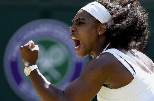 Serena Williams schnappt Handydieb