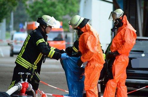 Giftige Dämpfe sorgen für Evakuierung