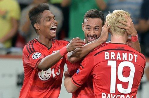 Leverkusen erreicht die Champions League