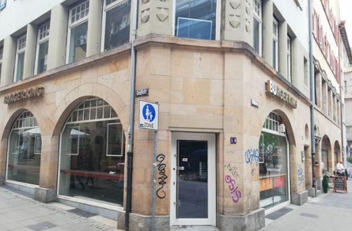 Burger-King-Filiale am Hans-im-Glück-Brunnen geschlossen