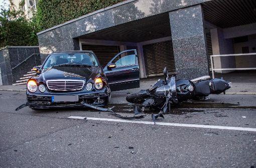 Schwerer Unfall auf der Neuen Weinsteige