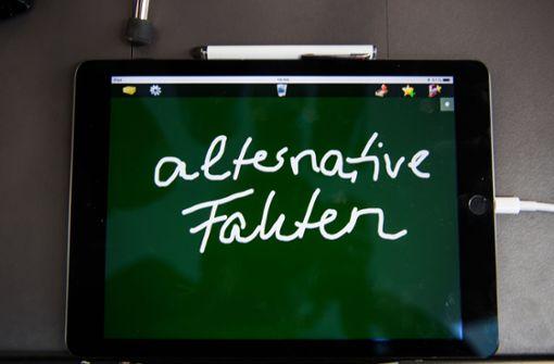 """""""Alternative Fakten sind für viele leider alternativlos"""""""