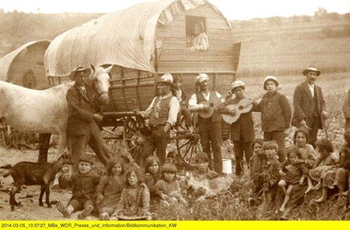 Sinti um 1900. So lebte die Buchela, als sie ein Kind war. Foto: WDR