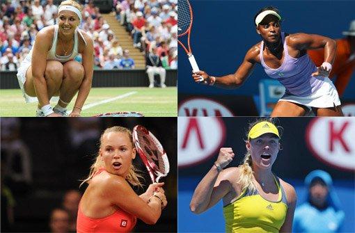 Diese Tennis-Damen sind heiß begehrt