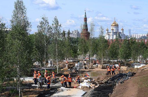 Moskau im Wandel