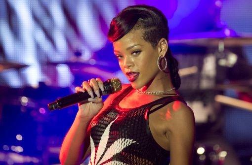 Rihanna stand im Berliner ewerk auf der Bühne. Foto: dapd