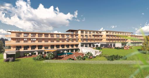 Hotel Aussenansicht  Foto: Das Weitblick Allgäu