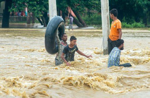 Mindestens 160 Tote durch Monsun-Regen