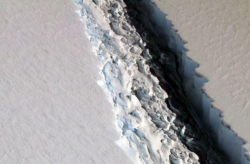 Gigantischer Eisberg bricht bald ab