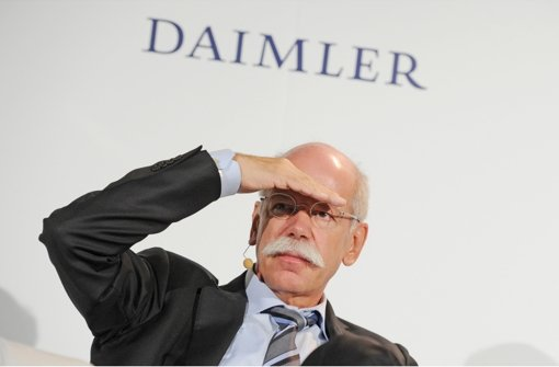 Daimler-Konzernchef Dieter Zetsche. Foto: dpa