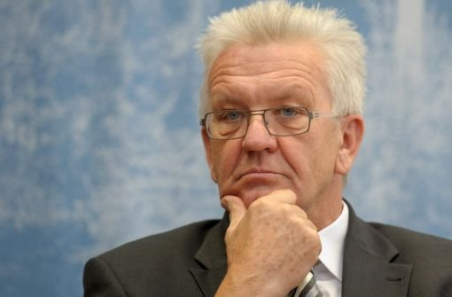 Der baden-württembergische Ministerpräsident Winfried Kretschmann (Grüne) verlangt Klarheit über die angeblichen Kostensteigerungen beim Bahnprojekt Stuttgart 21. Foto: dpa