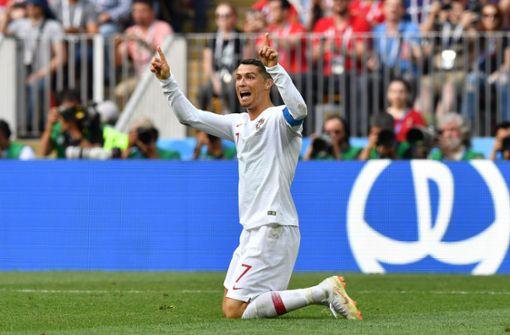 Ronaldo trifft schon wieder: Portugal schlägt Marokko