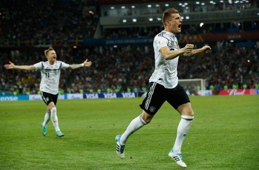 Toni Kroos schießt Deutschland zum Sieg