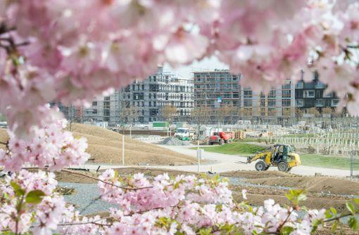 In einem Jahr beginnt die Bundesgartenschau in Heilbronn. Foto: dpa