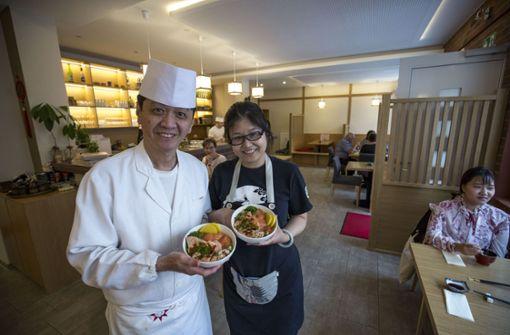 Keyaki in Stuttgart-Mitte – Die Altstadt hat einen Anlaufpunkt mehr: Das japanische Restaurant Keyaki lohnt einen Besuch, unsere Testerin bewertet die Küche mit vier Sternen. a href=https://mahlzeit.city/restauranttest/restauranttest-das-keyaki-in-der-altstadt/2959/ target=_blankHier geht es zum Test/a. Foto: Lichtgut/Leif Piechowski
