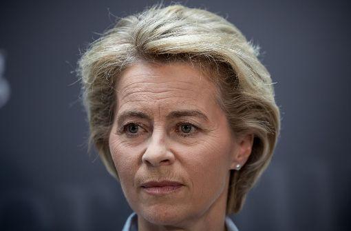 Die Bundesverteidigungsministerin Ursula von der Leyen. Foto: dpa