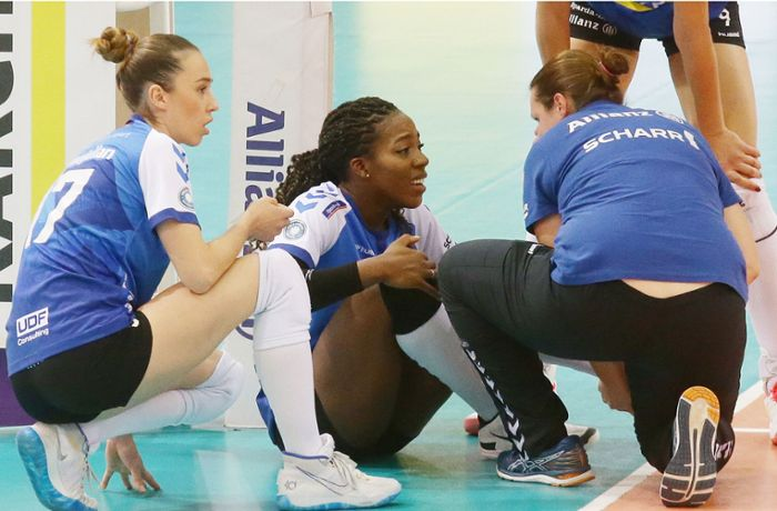Volleyball Allianz MTV Stuttgart: Der Meister bangt um Channon Thompson