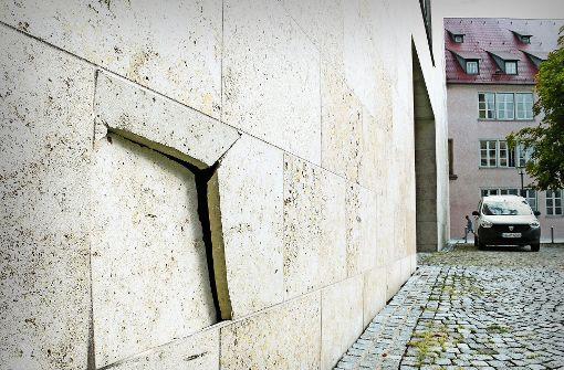 Schläge gegen Ulmer Synagoge