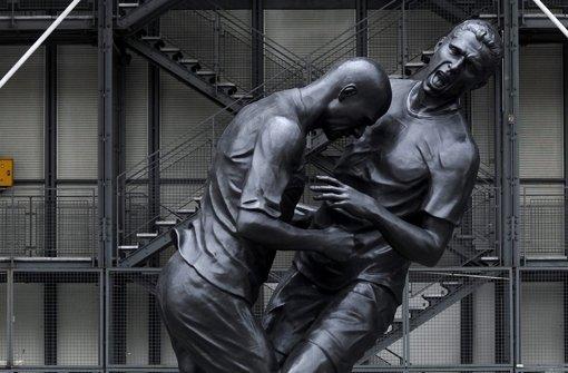 Bronzener Zidane erbost Funktionäre