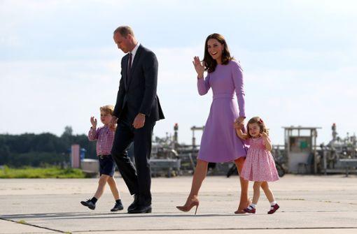 Prinz George und Prinzessin Charlotte übernehmen Aufgaben