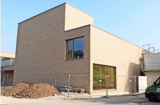 Die neue St. Peter-Kirche in der Winterbacher Straße. Foto: Iris Frey